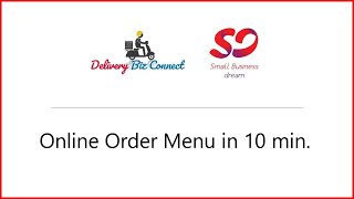 How to Create Your Online Order Menu In under 20 minutes
