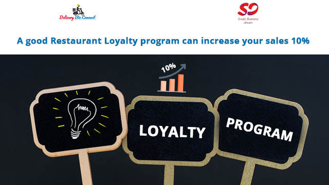 A good Restaurant Loyalty program can increase your sales 10%