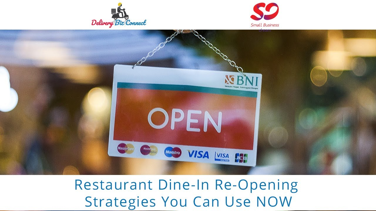 Restaurant Reopening for Dine In Strategies You Can Use NOW from Dennis Wilson and Craig Peloquin