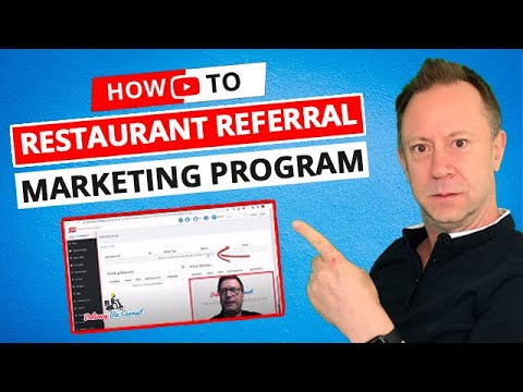 How to Create Referral Marketing Restaurant Program or JV in DeliveryBizConnect