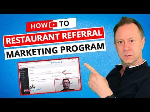 Referral Marketing Restaurant Program