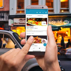 DeliveryBizConnect Food Ordering App